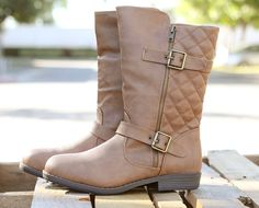 Mid-Calf Quilted Boots | 4 Colors