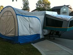 PU We Are Looking To Purchase A Screen Add On Room For 2003 Taos PUP Have An Awning It And The Box