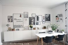 Picture wall + a how to guide | that nordic feeling | Bloglovin'