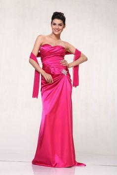 Elegant Long Formal Strapless Classic Prom Bridesmaids Dresses Wedding Event #DESIGNER #Formal
