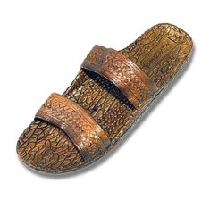 ef874fb2fb55 Ladies Brown Jesus Sandal Jandal Hawaian Pattern Summer Fresh Fashion Cool  Fancy Trendy     You can find out more details at the link of the image.