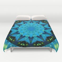 Buy ultra soft microfiber Duvet Covers featuring Mandala Source of light by Christine baessler. Hand sewn and meticulously crafted, these lightweight Duvet Cover vividly feature your favorite designs with a soft white reverse side.