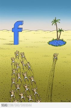 """In today's world, numerous people want to be social media famous hence all the precious time to enjoy this and life world, to be completely present in the moment is spent """"online"""" and not """"onEarth"""" Facebook Jokes, Facebook Users, Facebook Police, Pictures With Deep Meaning, Satirical Illustrations, Art Illustrations, Meaningful Pictures, Deep Art, Reality Check"""