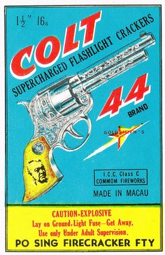Colt 44 C4 16s Firecracker Pack Label | Flickr - Photo Sharing!