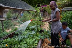 Yolanda Burrell's Front Yard Farm and New Farm Store in Oakland, CA Urban Farmer, Farm Store, New Farm, Backyard Farming, Permaculture, Roots, Farming Ideas, Farmers, Garden