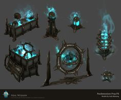 ArtStation - Diablo 3 Pandemonium Prop FX, Neal Wojahn