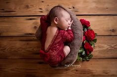Newborn Photo Prop, Lace Romper, Wine Red Romper, Baby Props, Baby Girl Outfit, Photography Prop, Baby Romper, Newborn Outfit,PITTAphotoprop