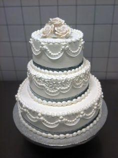 Black & Purple Gothic Wedding Cake — Round Wedding Cakes