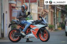 Checkout my favourite ktm pages . Motorcycle Photography, Photography Poses For Men, Ktm Rc 200, Ktm Duke 200, Duke Bike, Ktm Motorcycles, Bike Photoshoot, Bike Pic, Black Clover Anime