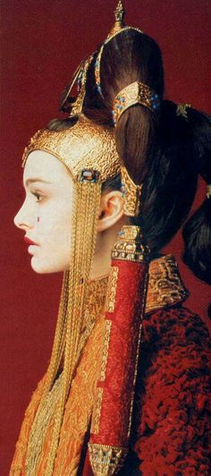 Natalie Portman as Queen Padmé Amidala: The young queen of Naboo at 14 years of age --- Star Wars Episode I: The Phantom Menace, a 1999 American epic space opera film written and directed by George Lucas.