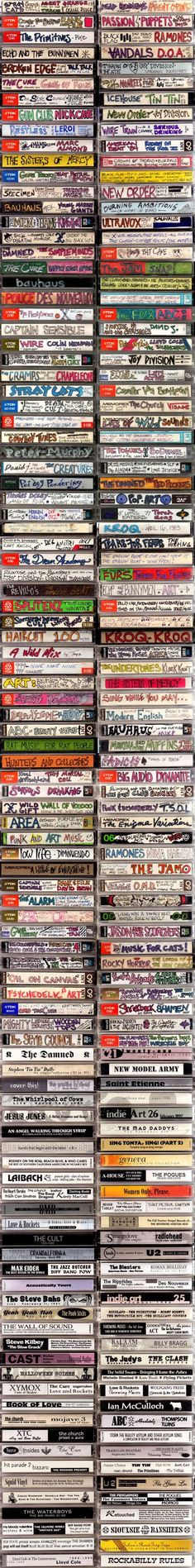 Tape Art! - this isn't my old collection but a lot of it could have been... Ah, memories