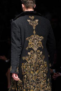Dolce & Gabbana Menswear: Fall 2012.