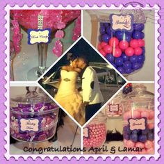 Wedding Candy Buffet Chocolate Centerpieces, Wedding Candy, Candy Buffet, Congratulations, Cake, Desserts, Food, Tailgate Desserts, Deserts