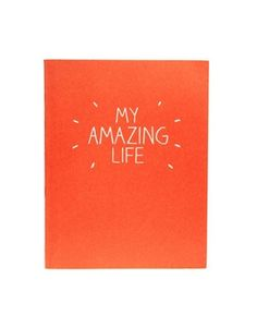 Happy Jackson 'My Amazing Life' Large Jotter | Inside Out Gifts