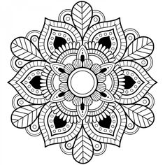 44 printable mandala coloring pages with page trippy drawings, free colorin Free Easter Coloring Pages, Printable Christmas Coloring Pages, Detailed Coloring Pages, Printable Adult Coloring Pages, Mandalas Painting, Mandalas Drawing, Abstract Coloring Pages, Mandala Coloring Pages, Design Tattoo