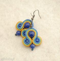 małe, kolorowe kolczyki sutasz. $10 Belly Button Rings, Earrings, Jewelry, Blue Prints, Ear Rings, Stud Earrings, Jewlery, Jewerly, Ear Piercings