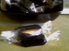 Black Licorice Caramels ~ Leslie's Handmade Candy
