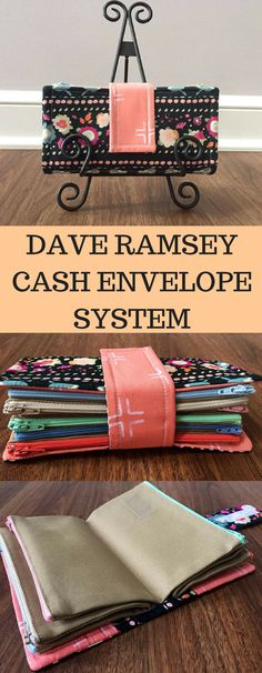 DAVE RAMSEY Cash envelope wallet system!! This is such a great way to budget and get out of debt! Give it a try! :) #affiliatelink #daveramsey #cashenvelope #budget