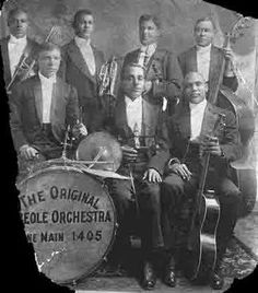 Original Creole Orchestra w. Freddie Keppard and Jimmy Palao.