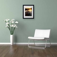 Trademark Fine Art Reflective Strength Canvas Art by Monica Fleet, White Matte, Black Frame, Size: 11 x 14