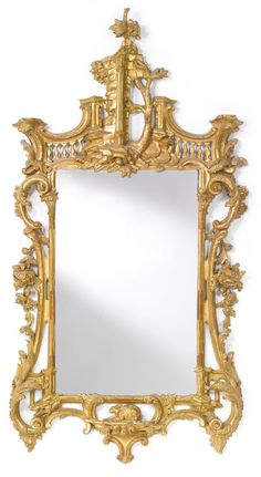 George II revival giltwood pier mirror mid 19th century | Sotheby's