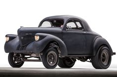 This Home-Built 1939 Willys Coupe Gasser Gets 22 MPG and Runs 12.30s!