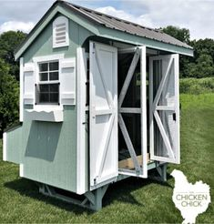 Order The Chicken Chick Essential Coop™! Raising Backyard Chickens, Backyard Chicken Coops, Pet Chickens, Chicken Chick, Chicken Runs, Chicken Marbella, Metal Roof Colors, Shade Perennials, Shade Plants