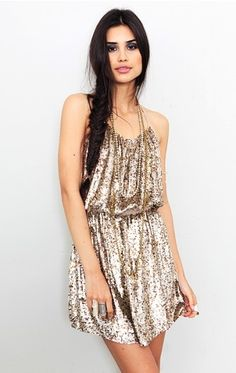 Parker - Sequin Dress - NEW - StyleSays