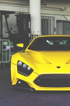 Zenvo ST1, one pissed off looking car:)
