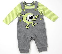 Fall Fashion Preview: Monsters, Inc. Overalls! | Disney Baby