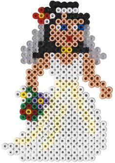 Bride Hama mini perler beads