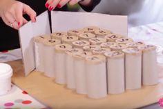Créez votre calendrier de l'avent 100% récup' avec des rouleaux de papier toilette