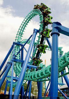 Dorney Park's newest roller coaster, The Stinger