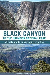 Black Canyon of the Gunnison Colorado National Parks, Gunnison National Park, Sequoia National Park, Us National Parks, Rocky Mountain National Park, Usa Travel Guide, Travel Usa, Travel Tips, Travel Guides