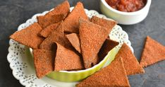 Coated in a spicy blend, these homemade doritos are better than bagged.
