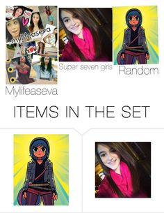 """""""Youtubers"""" by cheyanne-lewis ❤ liked on Polyvore featuring art"""