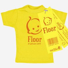 "Superleuk ""geboortekaartje"" T Shirts, Baby Shower Gifts, Birth, Sweatshirts, Kids, Women, Fashion, Bebe, Baby Shower Presents"