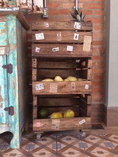 Caixa de fruta