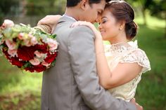 Jezz & Aiza Tagaytay Wedding » A & A Photography Tagaytay Wedding, Reception, Wedding Dresses, Pink, Photography, Fashion, Bride Dresses, Moda, Photograph