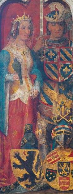 Phillip the Bold and Margaret III, Countess of Flanders