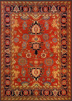 Afghan Heriz Oriental Rug #42524