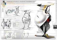 Vladimir Schitt, Transportation Pod Concept
