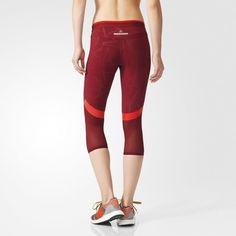 Legging 3/4 Running Performance - Dark Wine-Smc adidas | adidas France
