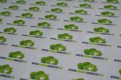 Papierové nálepky Stickers, Decals