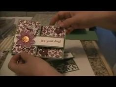 I just fell in love with the double z fold card when I saw it. I have been making them for the past 2 weekends now! Z Cards, Step Cards, Fun Fold Cards, Pop Up Cards, Cool Cards, Folded Cards, Stampin Up Cards, Card Making Tips, Card Making Tutorials