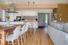 SH 9 - KLEIN ABER FEIN | AL Architekt Table, Furniture, Home Decor, Modern Dining Rooms, Houses, Design Ideas, Interior Design, Style, New Construction