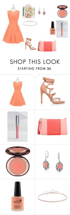"""""""what to wear on a wedding?"""" by mayamaya269 ❤ liked on Polyvore featuring Armani Jeans, Bling Jewelry, CND and Finn"""