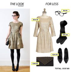 Holiday Look for Less