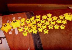 Super Mario lucky origami stars!