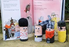 Toilet roll pirates... Just darling-idea could be used with making characters for several books...